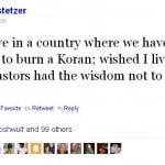 Stetzer Tweet