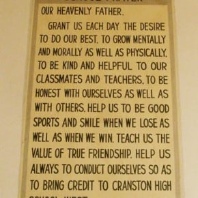 Cranston School Prayer