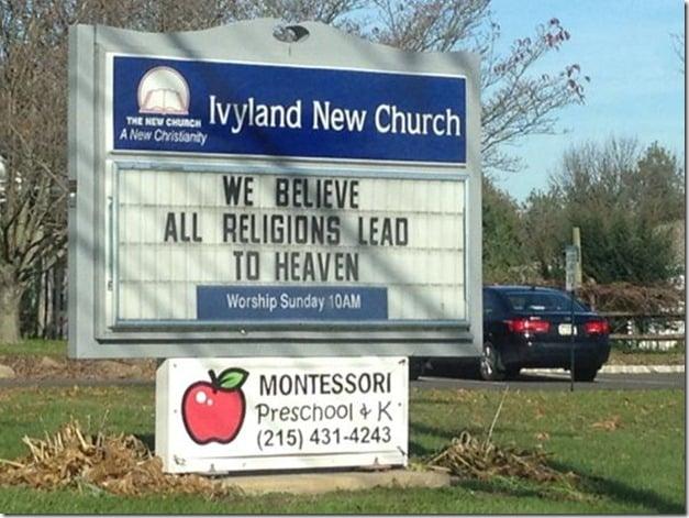 Jesus Doesn't Agree