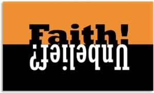 Faith and Unbelief