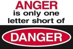 Anger warning