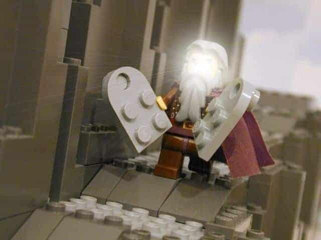 Lego Ten Commandments